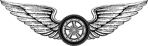 Motorcycle Wheel with wings